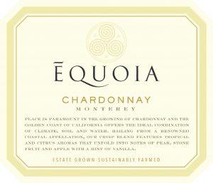Equoia NV Chardonnay Front Label