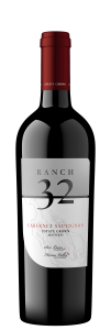 Ranch 32 NV Cabernet Sauvignon Bottle Shot – transp
