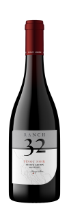 Ranch 32 NV Pinot Noir Bottle Shot – transp