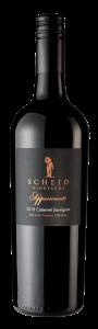 Scheid Vineyards Bottle Shot 2018 Appassimento Cab Sauv Reserve -transp