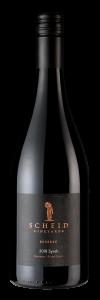 Scheid Vineyards Bottle Shot 2018 Syrah Reserve – transp