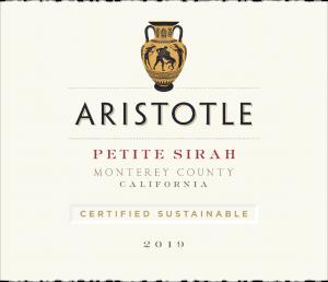 Aristotle 2019 Petite Sirah Front Label – transp