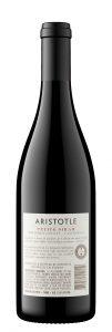 Aristotle NV Petite Sirah Back Bottle Shot