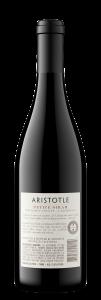 Aristotle NV Petite Sirah Back Bottle Shot – transp