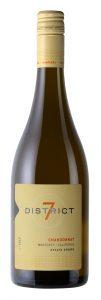District 7 2019 Chardonnay Bottle Shot