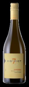 District 7 2019 Chardonnay Bottle Shot – transp