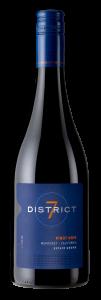 District 7 2019 Pinot Noir Bottle Shot – transp