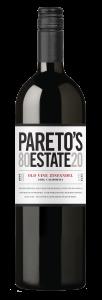 Pareto's Estate 2019 Zinfandel Bottle Shot -transp