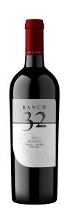 Ranch 32 2019 Merlot Bottle Shot -highres