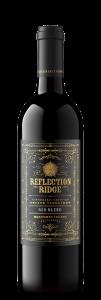 Reflection Ridge 2019 Red Blend Bottle shot -transp
