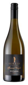 Scheid Vineyards 2018 Reserve Chardonnay Riverview Bottle shot -highres