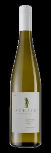 Scheid Vineyards 2020 Dry Riesling Bottle shot -transp