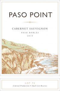 Paso Point 2019 Cabernet Sauvignon Front Label -highres