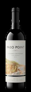 Paso Point 2019 Cabernet Sauvignon Bottle shot -transp