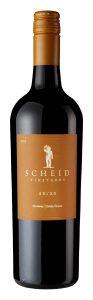 Scheid Vineyards 2018 50/50 Bottle Shot -highres