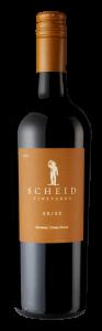 Scheid Vineyards 2018 50/50 Bottle shot -transp