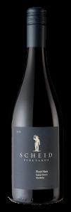 Scheid Vineyards 2018 Pinot Noir Bottle shot -transp