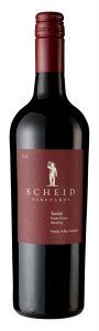 Scheid Vineyards 2018 Tannat Bottle shot -highres