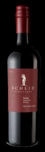 Scheid Vineyards 2018 Tannat Bottle shot -transp