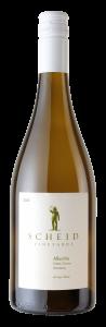 Scheid Vineyards 2020 Albarino Botle shot -transp