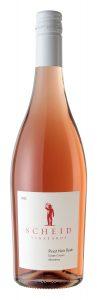 Scheid Vineyards 2020 Pinot Noir Rose Bottle shot -highres