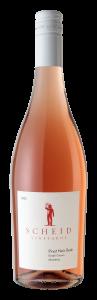 Scheid Vineyards 2020 Pinot Noir Rose Bottle Shot -transp