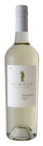 Scheid Vineyards 2020 Sauvignon Blanc Bottle shot -transp