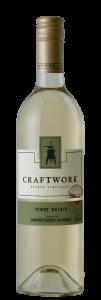 Craftwork NV Pinot Grigio Bottle shot -transp