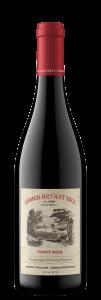 James Bryant Hill 2020 Pinot Noir Bottle shot -transp