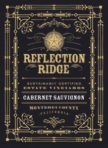 Reflection Ridge NV Cabernet Sauvignon front label -highres