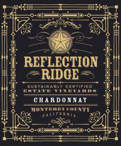 Reflection Ridge NV Chardonnay front label -highres