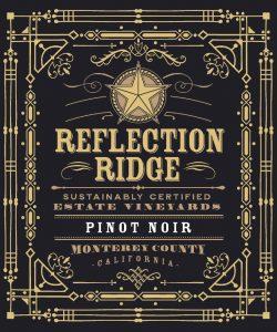 Reflection Ridge NV Pinot Noir front label -highres