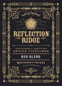 Reflection Ridge NV Red Blend front label -highres