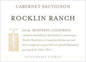 Rocklin Ranch 2019 Cabernet Sauvignon front label
