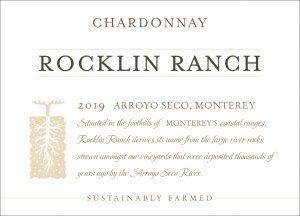 Rocklin Ranch 2019 Chardonnay front label
