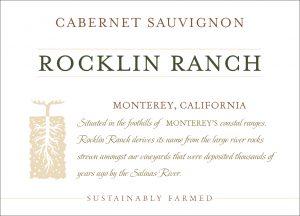 Rocklin Ranch NV Cabernet Sauvignon front label