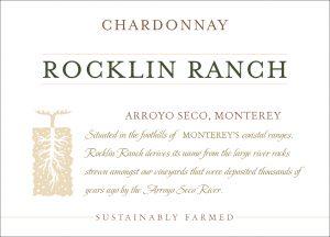 Rocklin Ranch NV Chardonnay front label