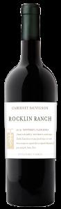 Rocklin Ranch 2019 Cabernet Sauvignon Bottle shot -transp
