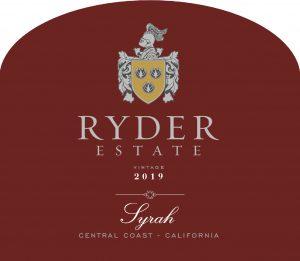 Ryder Estate 2019 Syrah front label -highres
