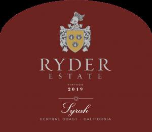 Ryder Estate 2019 Syrah front label -transp