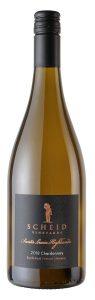 Scheid 2018 SLH Chardonnay Bottle shot -highres