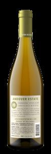 Andover Estate NV Chardonnay Back Bottle Shot – transp