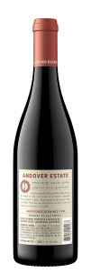 Andover Estate NV Pinot Noir Back Bottle Shot – transp