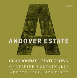 Andover Estate 2019 Chardonnay Label – transp