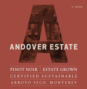 Andover Estate 2019 Pinot Noir Label – transp