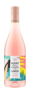 Sunny with a Chance of Flowers NV Rose Bottle Shot -highres