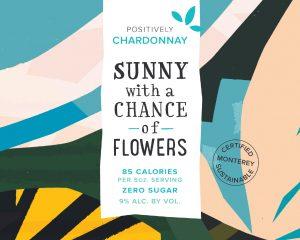 Sunny NV Chardonnay MON Front Label