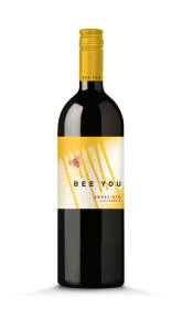 Bee You NV Sweet Red Bottle Shot -transp