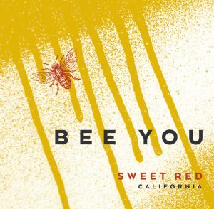 Bee You NV Sweet Red Front Label -highres