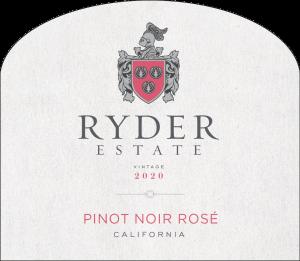 Ryder Estate 2020 Rose Front Label -transp